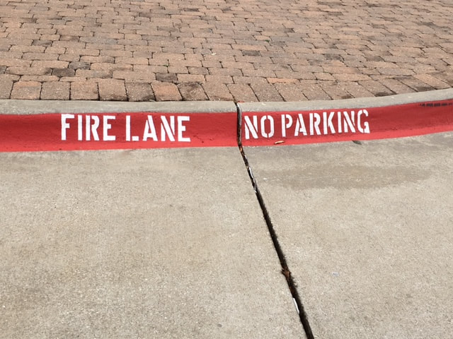 Fire Lane Striping and Compliance Orlando