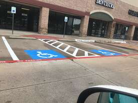 ADA Compliant Parking Spaces Buenaventura, FL